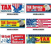 Income Tax Flags & Banners