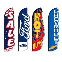 Dealership 3-D flags