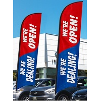 We Are Open Flags & Banners
