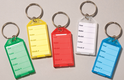 Hard Plastic Snap Open Key Tags Amp Rings 391