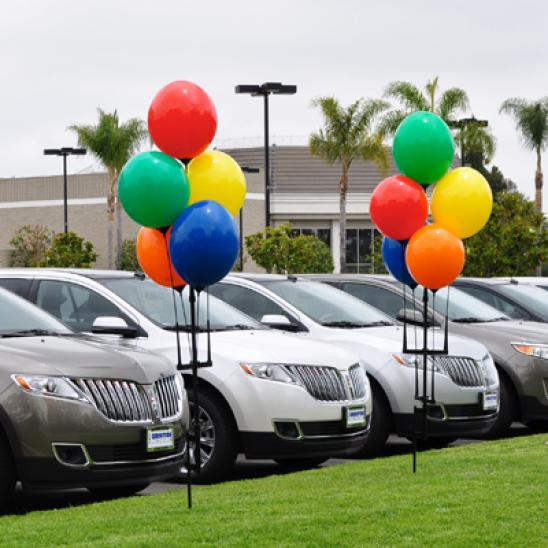 Car Dealer Vinyl Balloons