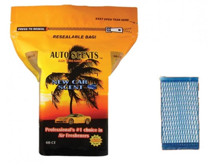 New Car Scent Air Freshener Pads 4520 Autodealersupplies