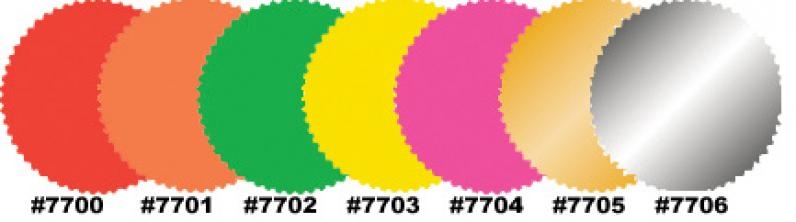 2 inch starburst labels custom or blank qty 500