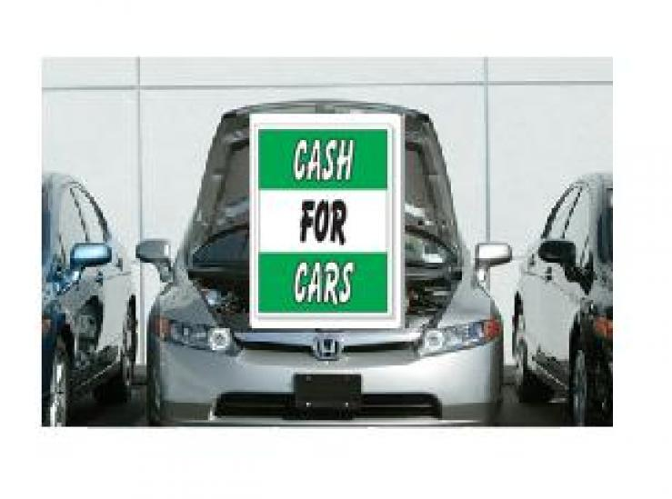 CASH FOR CARS GREEN & WHITE Ez905