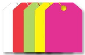 Mirror Hang Tags CLEARANCE #7501