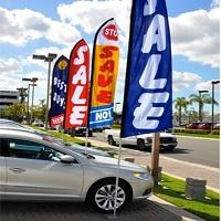 car dealer flags